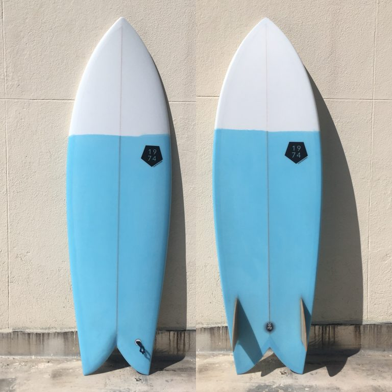 Fish Twin Fin/Biquilha Retro 1974 Surfboards