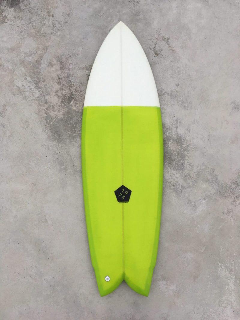 Prancha de surf fish retro quadriquilha 1974 Surfboards