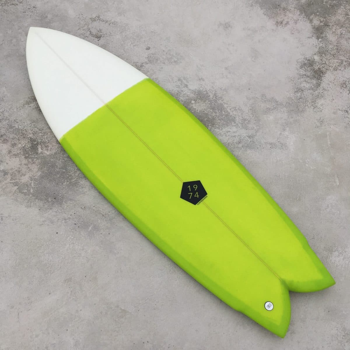 Prancha de surf fish retro quadriquilha 1974 Surfboards