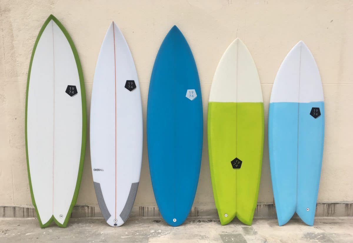 pranchas de surf retro 1974 Surfboards