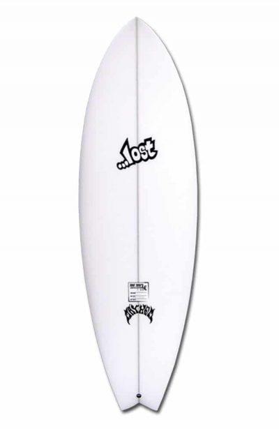 Réplica do modelo Round Nose Fish de 1997 — Foto: https://lostsurfboards.net/surfboards/rnf-classic-1997/